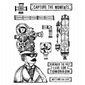Stamperia Rubber Stamp Antonis Tzanidakis Capture the Moments - WTKAT05